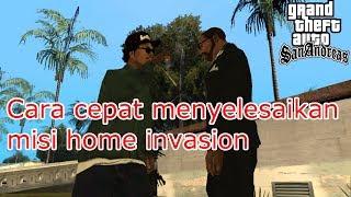 Cara cepat menyelesaikan misi home invasion - GTA San Andreas
