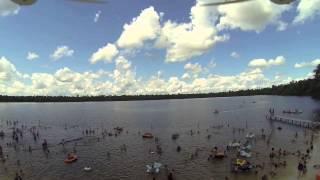 Iquitos, la bella capital de Loreto (Perú), vista desde el cielo