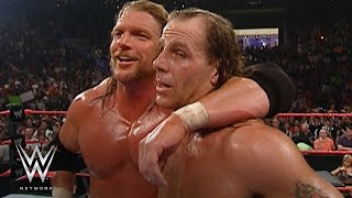 Triple H and Shawn Michaels recall their DX reunion on WWE Beyond the Ring: WWE Network width=