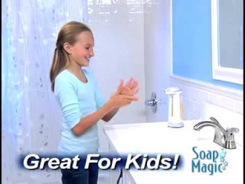 Sensörlu Sıvı Sabunluk Soap Magic BatanGemi'de