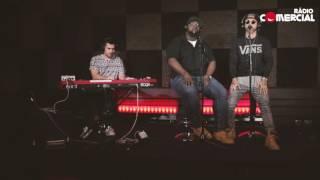 Rádio Comercial | Dengaz - 'Dizer que Não' ao vivo no auditório