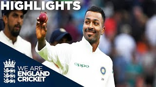 Pandya stars as England collapse | England v India 3rd Test Day 2 2018 - Highlights width=