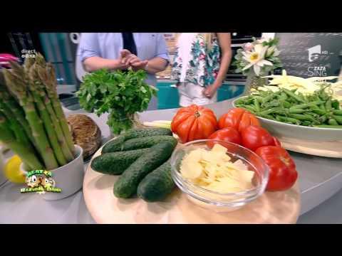 """""""Sparanghel vioi"""", o salată sănătoasă și gustoasă"""