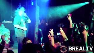 B Real Of Cypress Hill Hitstape.com Shout Out & Live Performance