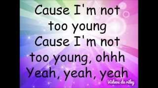 Too Young - Sabrina Carpenter lyrics
