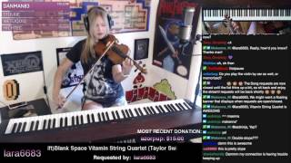 Lara plays Blank Space on VIOLIN