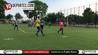 Cachorros vs Pueblo Nuevo Liga Latinoamericana Sabado