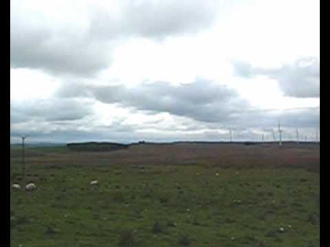 windfarm from Climpy June 2009