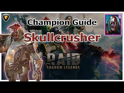 RAID Shadow Legends | Champion Guide | Skullcrusher