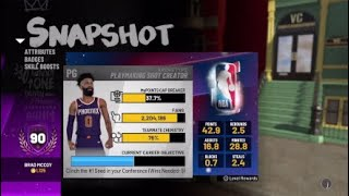 92 Overall!! - NBA 2k19 - Road to 99 - Playmaking Shot Creator highlights #1