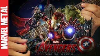 Avengers: Age of Ultron Theme Guitar