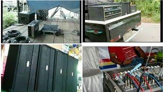 Sound system siap-siap berangkat