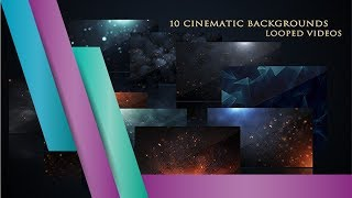 Cinematic Background Pack - Motion Graphics Template