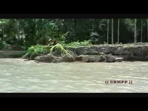 River Erosion and Village Life with the River of Meghna in Bangladesh