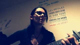 """Guitare cover """" loin """" Aliose"""