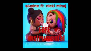 6ix9ine ft. Nicki Minaj  FEFE Instrumental Video Edition By K.d. Productions