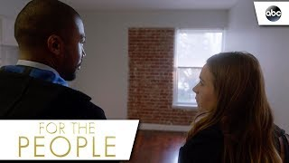 Sandra and Ted Investigate the Apartment - For The People