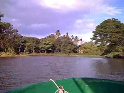 10 minutos en el lago de Nicaragua y sus isletas
