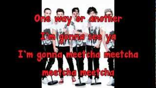 One Direction - One Way or Another (Teenage Kicks) [Instrumental + Lyrics + background vocals]