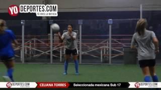 Celiana Torres al Mundial Sub 17 de Jordania