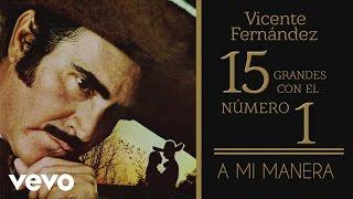 Vicente Fernández - A Mi Manera (tema remasterizado) [cover audio]