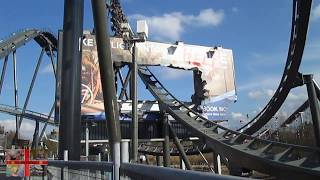 The Swarm Backwards - Thorpe Park! (P.O.V)