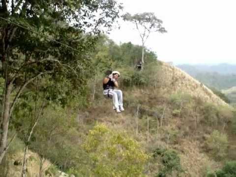 Canopy en Montañita