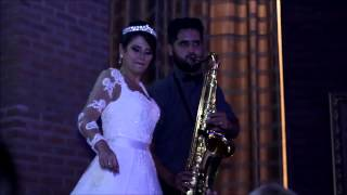 Live sax - Festa de casamento TOP Jader Leandro