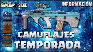 NUEVAS SKIN UNIVERSALES DE BURNT HORIZON | Caramelo Rainbow Six Siege Gameplay Español