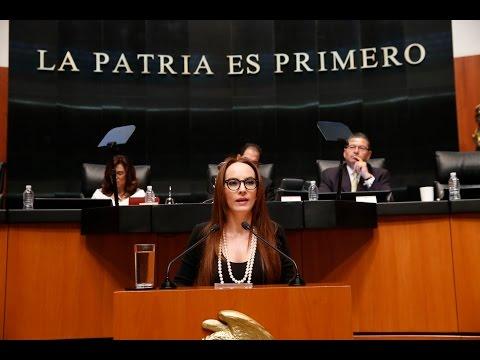 SEN. CUEVAS HABLA EN TRIBUNA DE VISITA DE TRUMP A MÉXICO