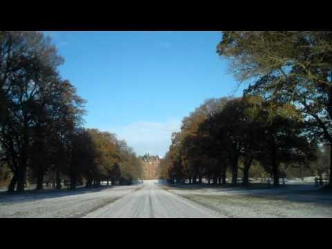 Tour Scotland Winter Drive Glamis Castle