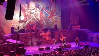 Iron Maiden Cape Town 2016 - The Trooper (intro)