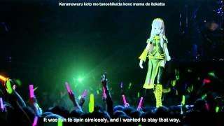 Double Lariat  ~ Luka Megurine Project DIVA Live - eng subs