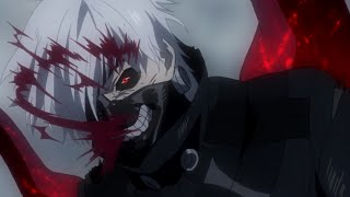 Tokyo Ghoul - Kaneki vs Amon width=
