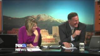 News Anchor has major laughing attack on-air