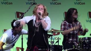 We the Kings - Queen of Hearts (VidCon 2014)