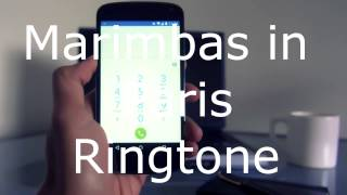 Marimbas in Paris - Ringtone Download