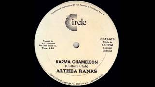 Althea Ranks - Karma Chameleon (Culture Club Reggae Cover)