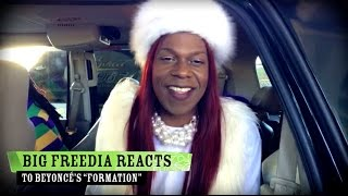 "Big Freedia on Beyoncé's ""Formation"""