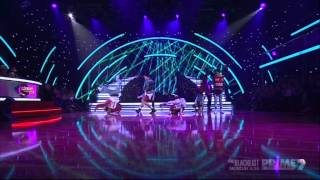 Justice Crew Everybody live on dancing with the stars