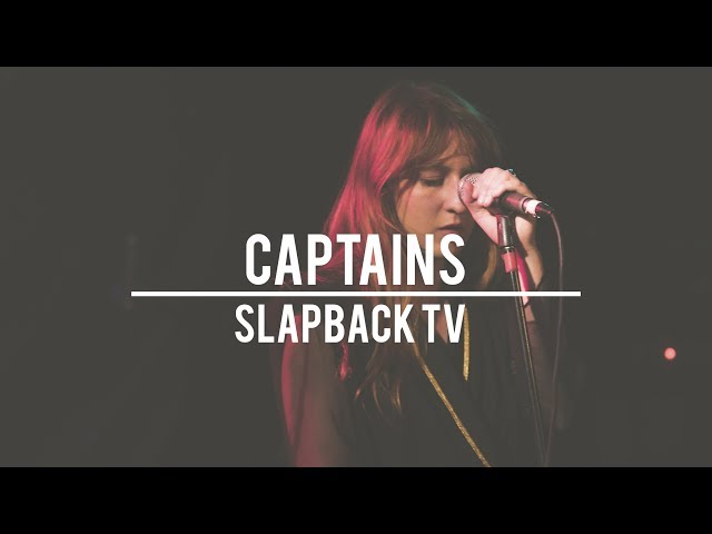 Actuación de CAPTAINS en Slapback Tv