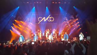 CNCO concert 01/30/16 Part 3 performing Tan Fácil