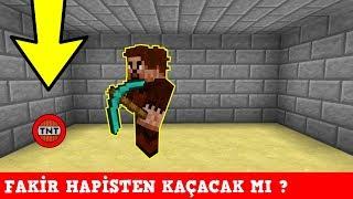 ZENGİN VS FAKİR #136 - Fakir Hapisten Kaçacak mı? (Minecraft) width=