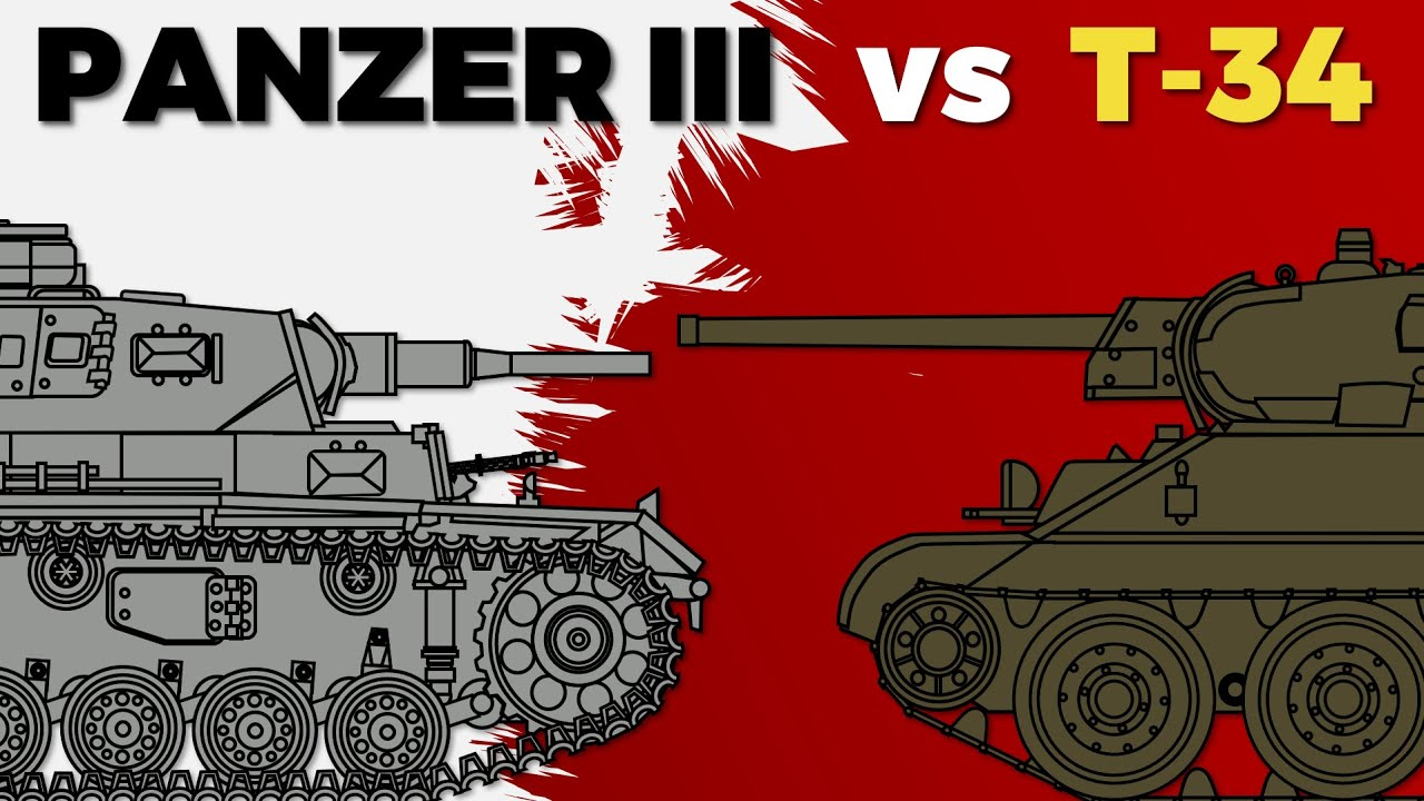 Panzer III vs. T-34 (Featuring Chieftain)