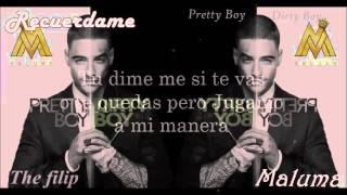 Maluma - Recuerdame (letra) 2016
