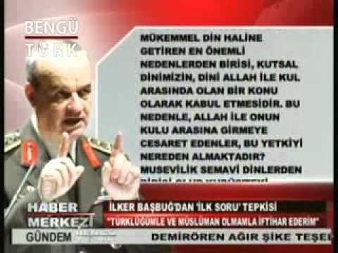 Başbuğ'a Ağlama Duvarı Sorusu: Türklüğüm ve Müslüman olmamla iftihar ederim.