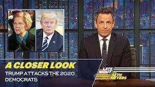 Trump Attacks the 2020 Democrats: A Closer Look