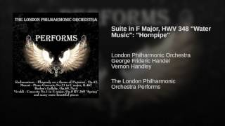 "Suite in F Major, HWV 348 ""Water Music"": ""Hornpipe"""