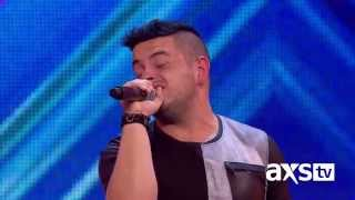 "Paul Akister sings Marvin Gaye's ""Let's Get it On"" - The X Factor UK on AXS TV"