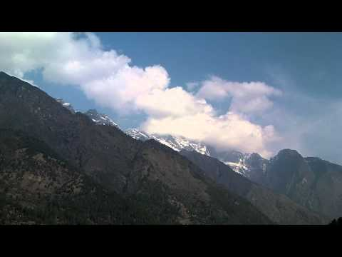 SANY0049.MP4 Everest Trekking View  Lukla-Cheplung